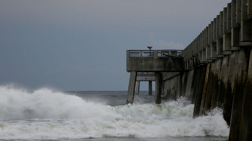 شاهد: الإعصار العاتي مايكل يضرب فلوريدا