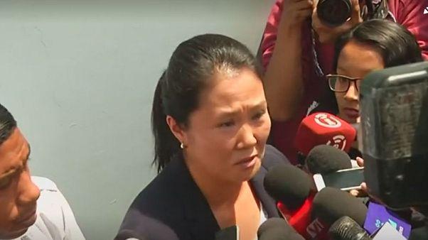 Detenida Keiko Fujimori, líder de la oposición peruana