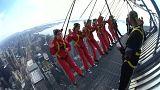 Kanada: 553 metre yükseklikte vatandaşlık yemin töreni