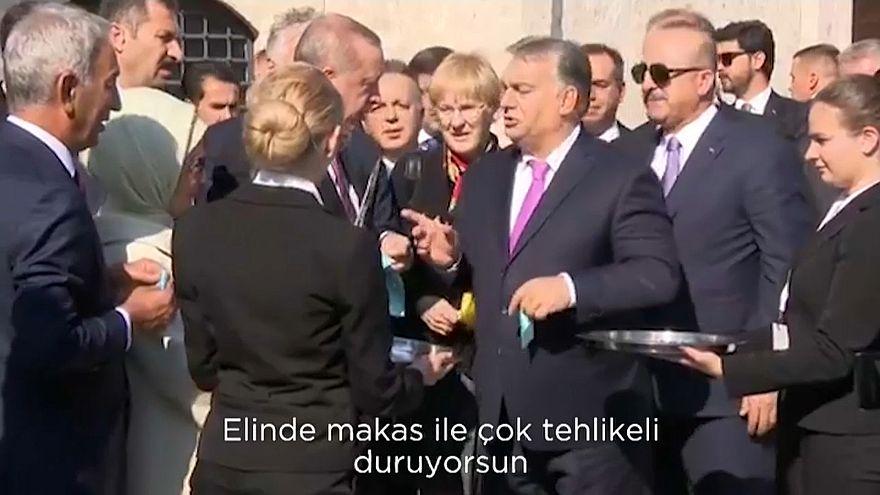 'You are very dangerous', Orban tells Erdogan