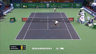 Retour gagnant pour Federer