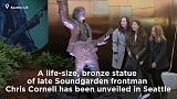 Bronze statue honours Soundgarden's Chris Cornell in Seattle