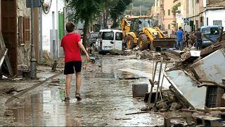 Dez mortos por causa da tromba de água e cheias em Maiorca