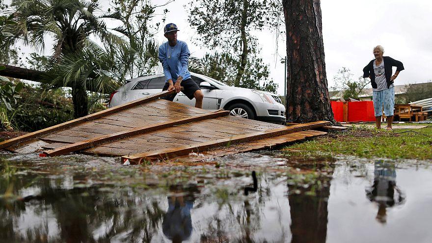 Floridában tombol a Michael hurrikán