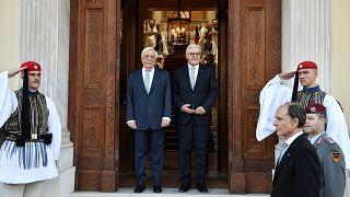 Steinmeier in Griechenland: Zwischen Ehrenbürgerwürde und Reparationsforderungen