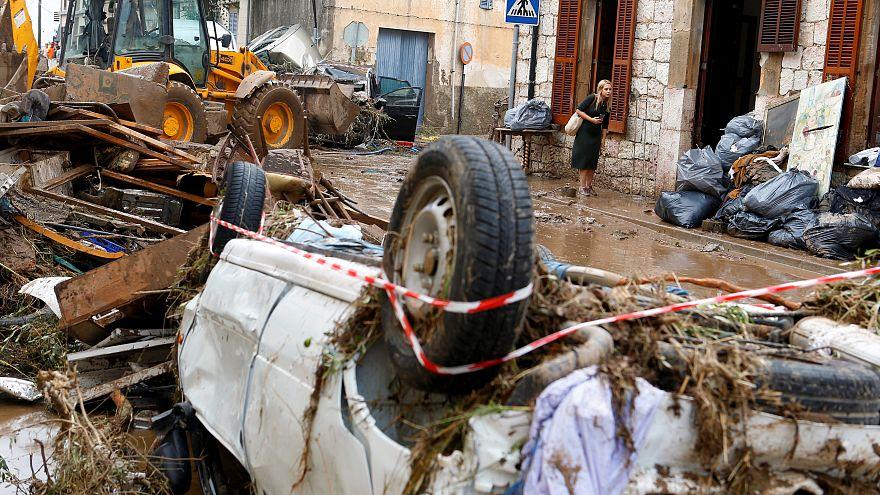 Μαγιόρκα: Τουλάχιστον 12 οι νεκροί από τις πλημμύρες