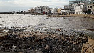 Flash flooding hits the Spanish island of Mallorca