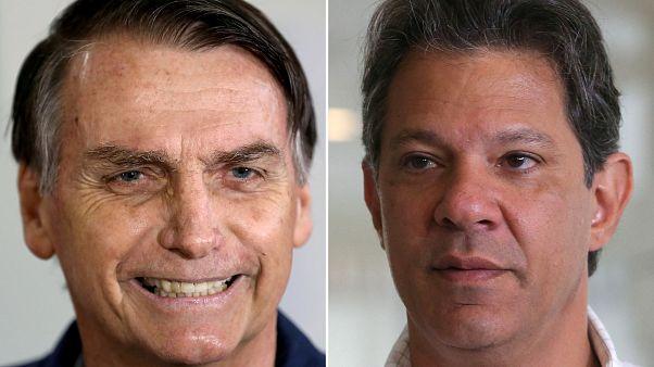 La izquierda reacciona ante el avance del ultraderechista Jair Bolsonaro en el primer sondeo