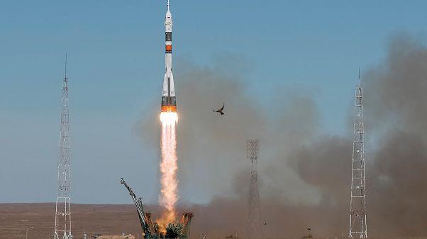 VİDEO   Soyuz MS-10 uzay aracının fırlatılışı sırasında kaza meydana geldi