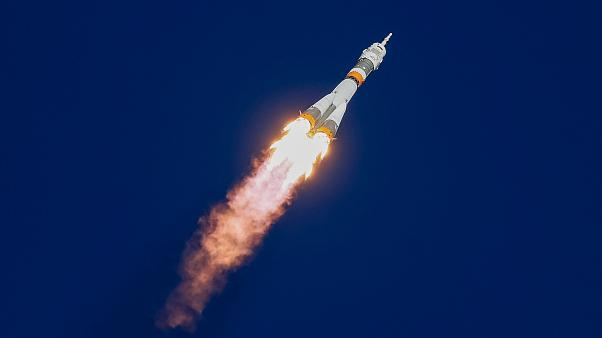 Soyuz makes emergency landing after booster problems end space mission