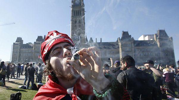 Kanada'da esrar kullanımı ülke genelinde serbest bırakılıyor