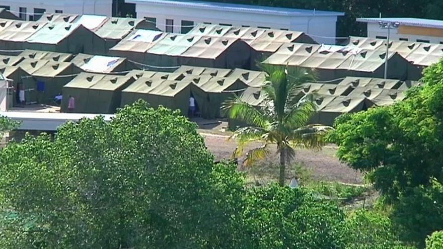 Flüchtlinge auf Nauru: auch Kinder selbstmordgefährdet