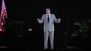 Ronald Reagan digitally resurrected in hologram form