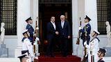 El presidente alemán pide perdón en Atenas por crímenes nazis