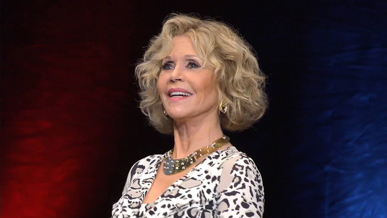 Jane Fonda honoured at the 10th Lumiere Film Festival