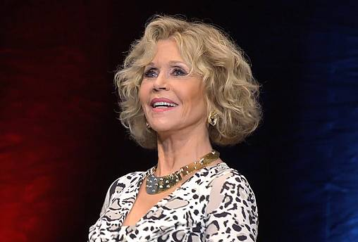 Jane Fonda honoured at the 10th Lumiere Film Festival