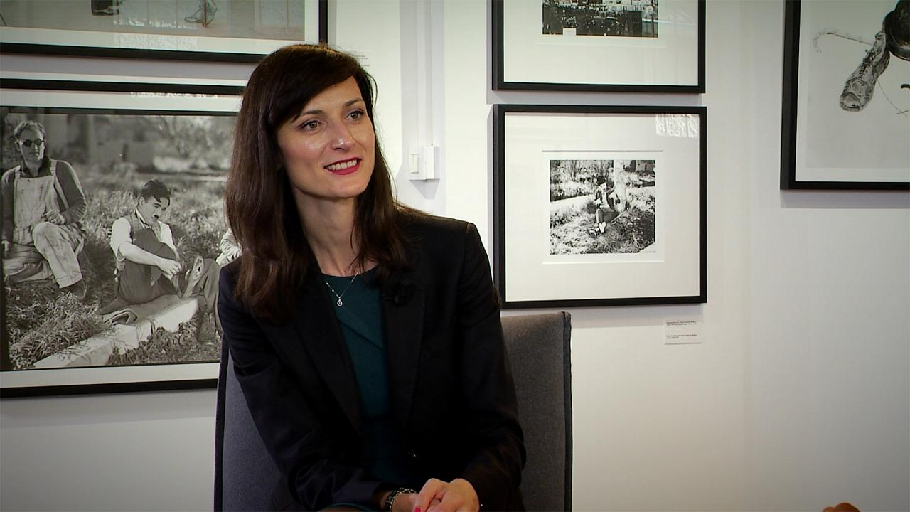 مصاحبه با کمیسر تجاری اتحادیه اروپا در حاشیه جشنواره فیلم لومیر فرانسه