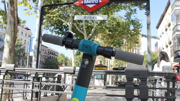 Madrid bans scooters on pavements but riders still face wrath of