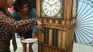 VİDEO   Londra'daki pasta yarışması ziyaretçilere lezzetli anlar yaşattı