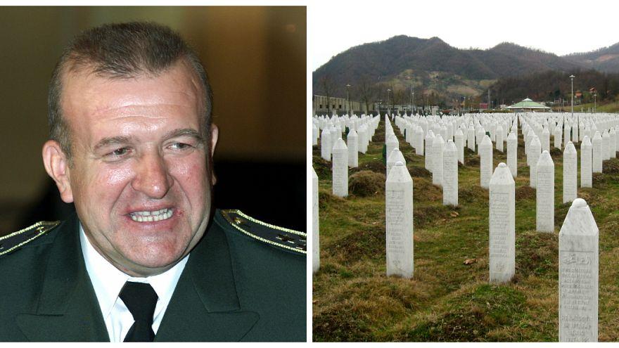 Gravestones at the Potočari genocide memorial near Srebrenica