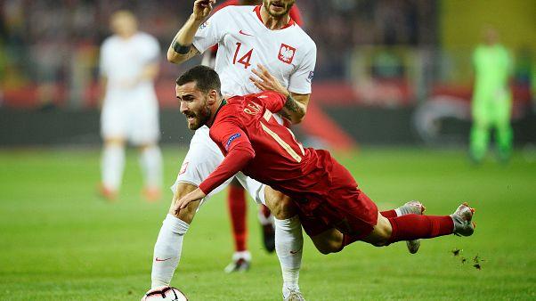 Portugal vence na Polónia está quase nas meias-finais da Liga das Nações