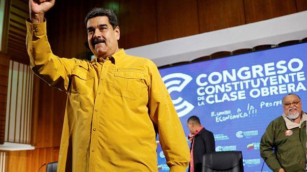 Maduro acusa a EEUU y Colombia de querer matarle
