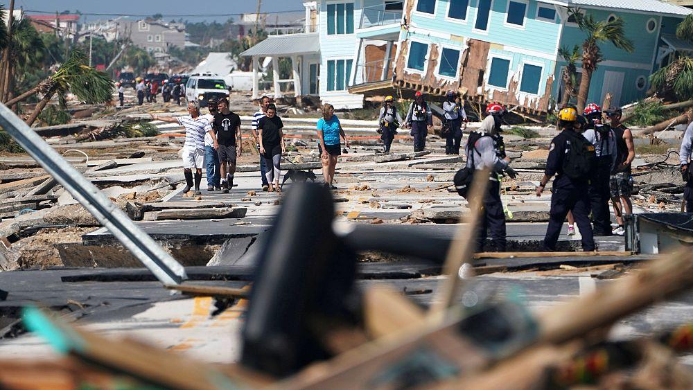 Ураган «Майкл»: кадры разрушений
