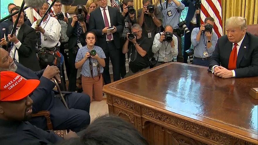 """Kanye West, un """"loco hijo de puta"""" en el despacho oval"""