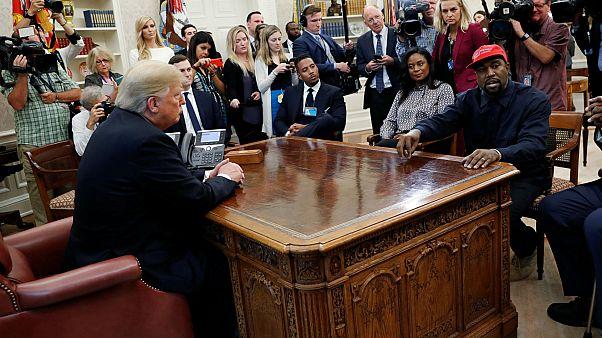 """""""Crazy motherfucker"""" : Kanye West en freestyle à la Maison Blanche"""