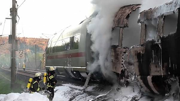 Accident ferroviaire en Allemagne