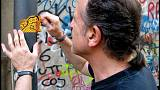 From 'graffiti hunter' to champion of Naples' street art