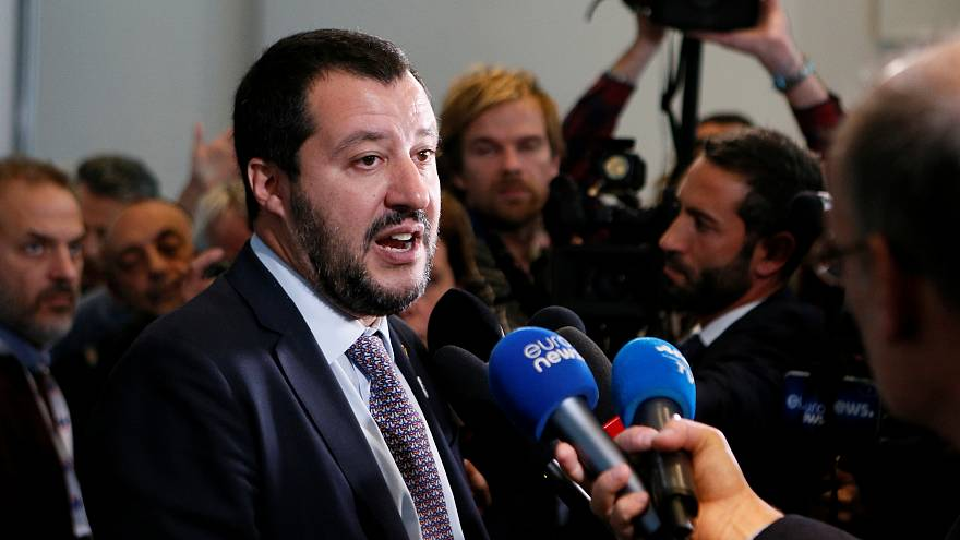 'They piss and s*** everywhere,' says Salvini on those who gather at 'ethnic' shops