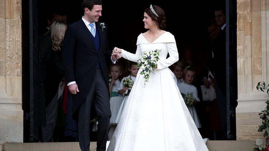 Königliche Hochzeit in Windsor: Prinzessin Eugenie heiratet ihren Barmann