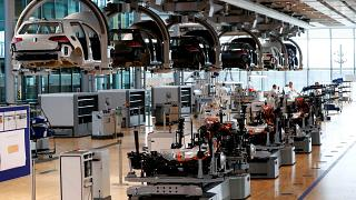 أحد مصانع فولكسفاغن في ألمانيا
