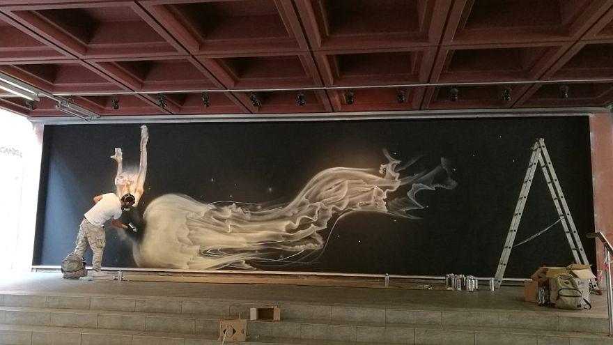 Street Art Ελλάδας - Μεξικού στην Αθήνα