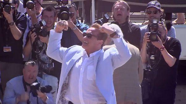 """Schwarzenegger: """"Pisei a linha várias vezes"""""""