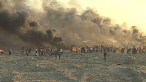 مقتل 6 فلسطينيين في احتجاجات على حدود قطاع غزة