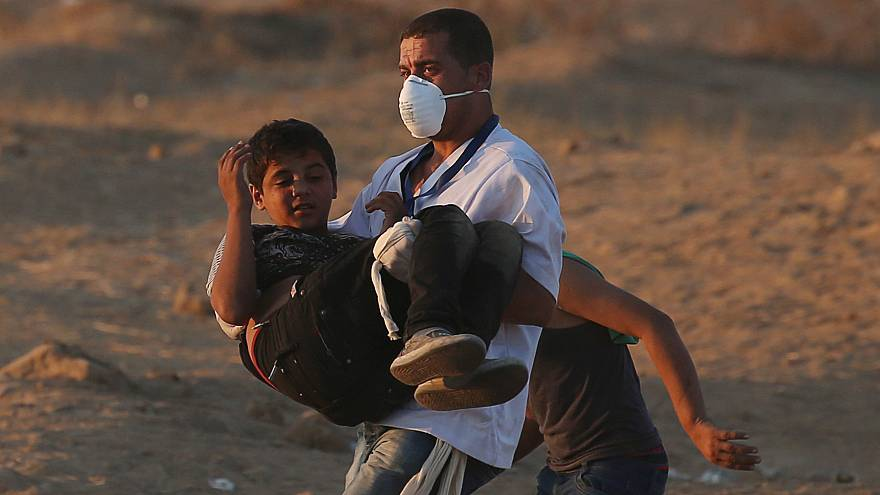 Gazze: İsrail askerlerinin ateşinde 7 Filistinli hayatını kaybetti