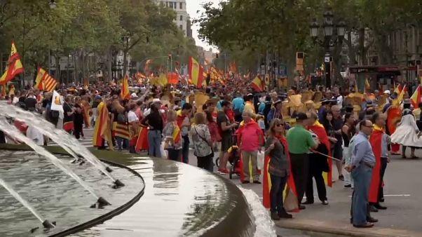 A Barcellona è festa ma è anche protesta