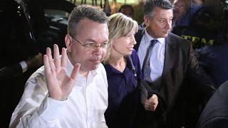 US-Pastor Brunson hat Türkei verlassen