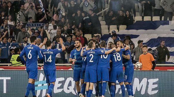 Αγχωτική νίκη με 1-0 επί της Ουγγαρίας η Ελλάδα