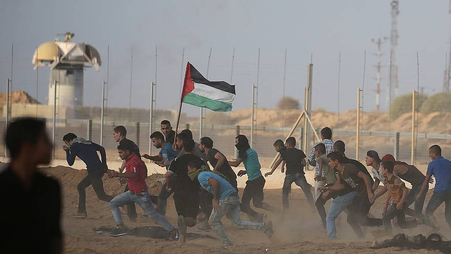 Столкновения на границе Израиля и сектора Газа