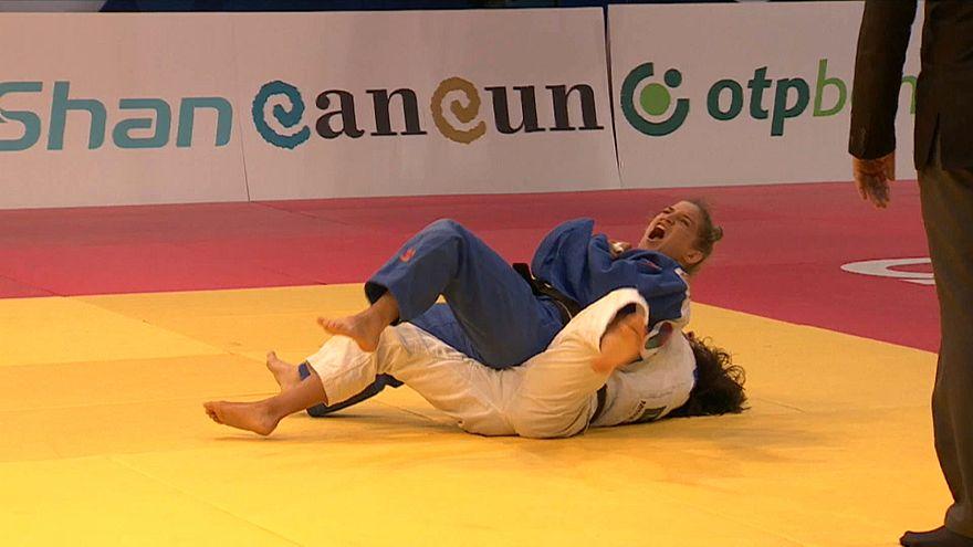 درخشش پائولا پارتو در نخستین روز مسابقات جودوی جایزه بزرگ کنکون