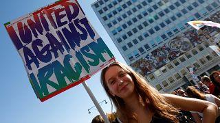 A nyitott társadalom mellett tüntettek Berlinben