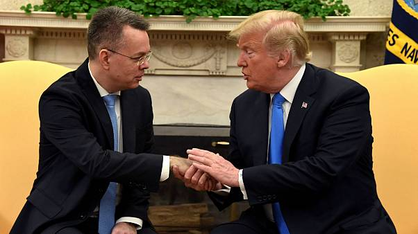 Trump welcomes Pastor Brunson