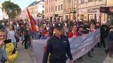 شاهد: الشرطة البولندية تستخدم الغاز المسيل للدموع لحماية مسيرة للمثليين