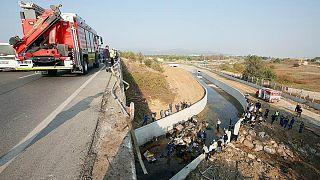 واژگونی کامیون مهاجران در ترکیه؛ شمار جانباختگان به ۲۲ نفر رسید