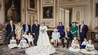 شاهد: الصور الرسمية لزفاف الأميرة أوجيني حفيدة الملكة إليزابيث الثانية