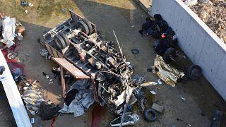 Al menos 22 migrantes muertos por el accidente de un camión en Turquía
