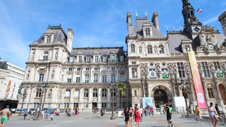 Paris town hall.